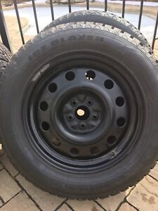 Winter tires (with rims)