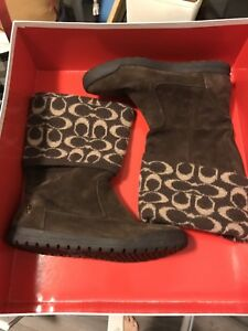 Coach new winter boots