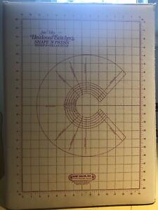 June Taylor Heirloom Sticher's Shape 'N Press,Rotary Map &rulers