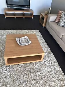 Coffee table,Tv cabinet & said table Kellyville The Hills District Preview