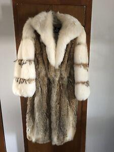 Manteau de fourrure femme