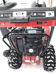 1 year old 28 inch snow blower