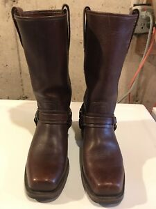 Frey 12R Harness Boots - Mens 7.5 to 8, women's 9.5-10