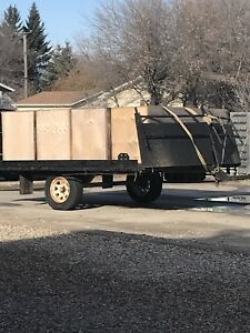 2 place snowmobile trailer