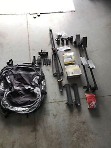 THULE cartop carrier, roof racks, assorted sporting attachments