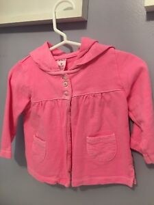 Bright pink Carters jacket