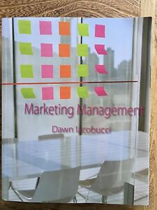 Marketing Management, Dawn Iacobucci Mentone Kingston Area Preview