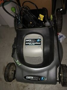 WANT Battery for lawn mower.