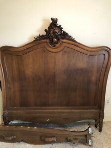 19th Century Antique Bed From France