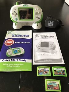 Leapster Explorer by Leap Frog