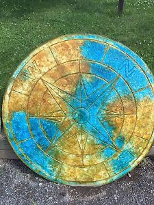 Outdoor Table Top or Compass