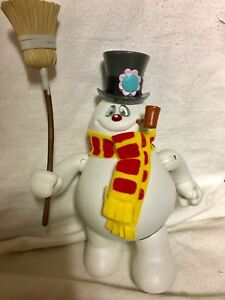 FROSTY THE SNOWMAN PLASTIC FIGURE