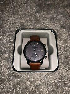 Fossil Townsman Leather Watch