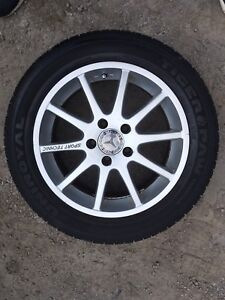Mercedes 5x112 Sport Rims with Almost New Tires