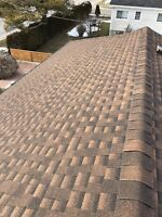 Hand Nailed Roofing installation $2.75 Per Sq Ft