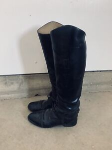 English riding boots, size 9