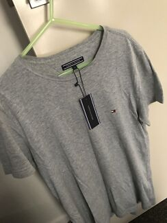 Tommy Hilfiger May Crew Neck T-shirt - Grey