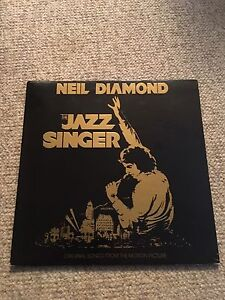 "Neil Diamond ""the jazz singer"" vinyl lp record"