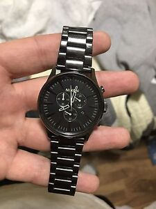 Nixon Sentry Chrono Gunmetal Watch