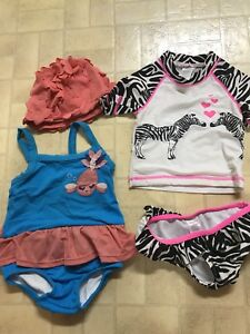 12-18 month bathing suits  both for 10$