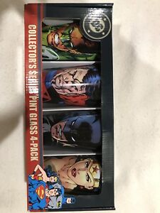 Marvel DC I Cup limited edition glasses Four pack