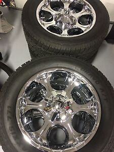 "20"" Fuel Rims with Tires"