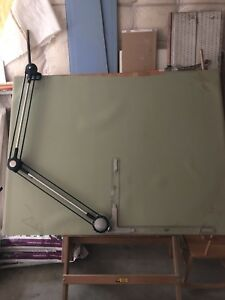 Drafting Table with Machine