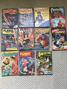 Pulp Fiction Sci-Fi 11 Book Lot