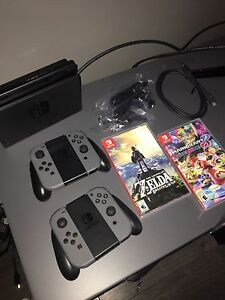 Nintendo switch! + games and controllers