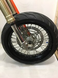 "Drz400sm wheels supermoto wheels 17"" drz400 part out"