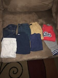 Boys 9 month pants & one outfit