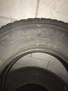 "17 "" pnues d 'hivers  winter tires 265-70-17"