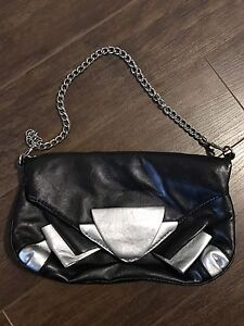 Nine West Black and Silver Handbag