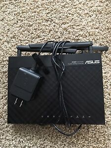 Asus Network RT-N66R Dual-Band Wireless N900 Gigabit Router