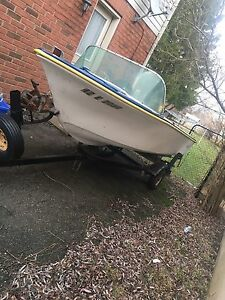 15ft Boat and trailer for sale