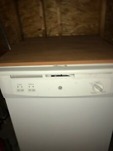 "GE 24.9""  64db portable dishwasher   Text or call only"