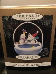 hallmark peanuts christmas ornaments magic series 1995