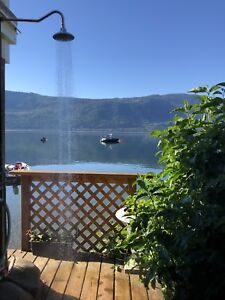Shuswap lake cabin rental.