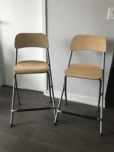 IKEA Franklin foldable counter dining  stool