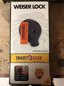 Finger print smart scan deadbolt