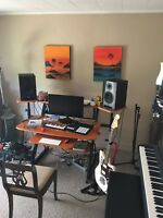 Guitar/Bass/Piano/Recording Lessons