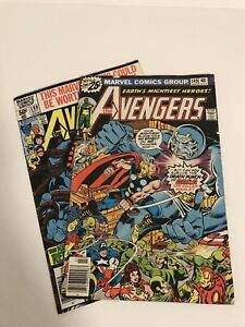 Vintage Marvel Avengers Comic Books