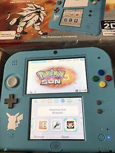 Nintendo 2DS Pokemon Sun Edition Like new Pooraka Salisbury Area Preview