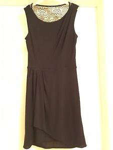 Robe BCBG noire xxs