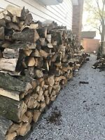 Seasoned/split firewood