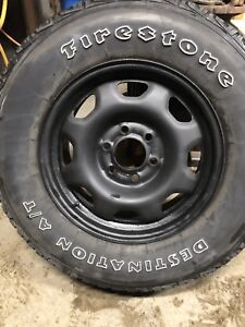 """17"""" F150 rims and tires"""