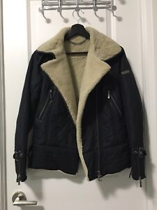 Shearling Mix Jacket