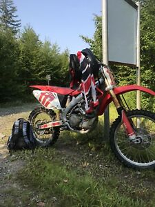 2007 crf450r mint shape