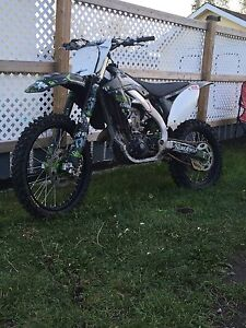 2009 Kawasaki kx450f fuel injected trade for reliable vehicle