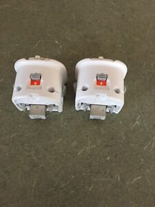 Motion plus adapters for Wii remotes